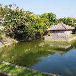 首里城公園にある「弁財天堂と円鑑池」