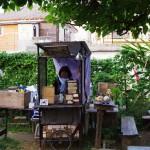 公園の中にいるような小さなカフェ「珈琲屋台 ひばり屋」