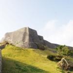 沖縄県うるま市にある世界遺産「勝連城跡」