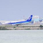迫力満点!瀬長島は飛行の離発着が観れる名所!