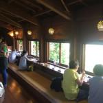 自然と一体化した癒しのカフェ「山の茶屋 楽水 」