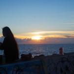 夕日が綺麗な北谷町サンセットビーチへ
