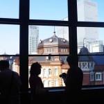 KITTEの旧東京中央郵便局長室から見える東京駅が素敵