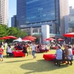 ネスレのお茶イベント「京の匠ガーデンサロン」