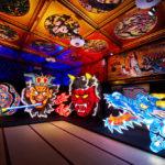 目黒雅叙園 百段階段でアートイルミネーション 「和のあかり×百段階段展 2016」開催中