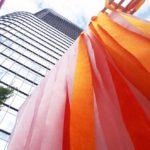 100色が彩る美しいグラデーション作品「100 colors / WATERRAS」を見てきた