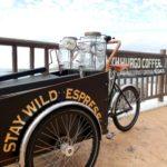 北谷町美浜にある海が望めるお気に入りのカフェ「ZHYVAGO COFFEE WORKS OKINAWA」