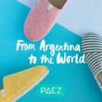 アルゼンチン生まれのペタンコ エスパドリーユ「PAEZ (パエツ)」