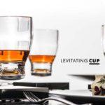 世界初の宙に浮くグラス「Levitating CUP」
