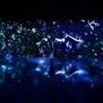 チームラボと紫舟が魅せるデジタルアート「Love Letter Project '17」展