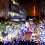 六本木ヒルズのクリスマスイルミネーション「Artelligent Christmas 2017」