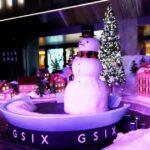 GINZA SIXのクリスマススポット「Snow Dome City」