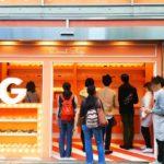 表参道に期間限定オープンした「Google Home mini Donut Shop」へ