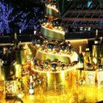モエのシャンパンゴールドツリー「MOET CHRISTMAS TREE」