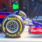 Red Bull Toro Rosso Hondaのキックオフイベントへ