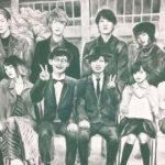 SCHOOL OF LOCK! の巨大黒板アート