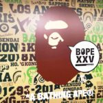 "A BATHING APEの展覧会「""BAPE XXV"" 25TH ANNIVERSARY EXHIBITION」へ"