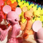 ディズニー ミッキー90周年 マジック オブ カラー へ
