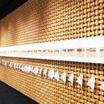 約450点の羊羹デザインが展示された「とらやの羊羹デザイン展」へ