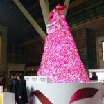 体験型クリスマスツリー「パンテーン ミラクルズ Xmasリボンツリー」を見てきた