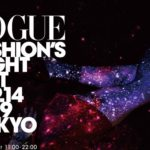 VOGUE FASHION'S NIGHT OUT 2019 ラフォーレ原宿に星空が