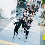 adidasとSAILHUSがコラボしたランニングイベント開催