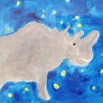 大宮エリー「大自然の動物たち – ハートのレオナ原画展とともに -」へ