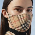 バーバリーからヴィンテージチェックのマスクが発売