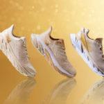 HOKA ONE ONE からゴールドで彩ったスペシャルコレクション「GOLD PACK」が登場