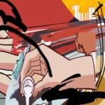 山崎由紀子個展「崩壊する絵画」開催