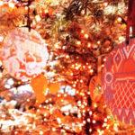 エルメスのオレンジクリスマスツリーを見てきた