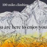 康夏奈 作品展「100 miles climbing 」開催