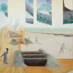 山下紘加の個展「コスモスは思い出した」開催