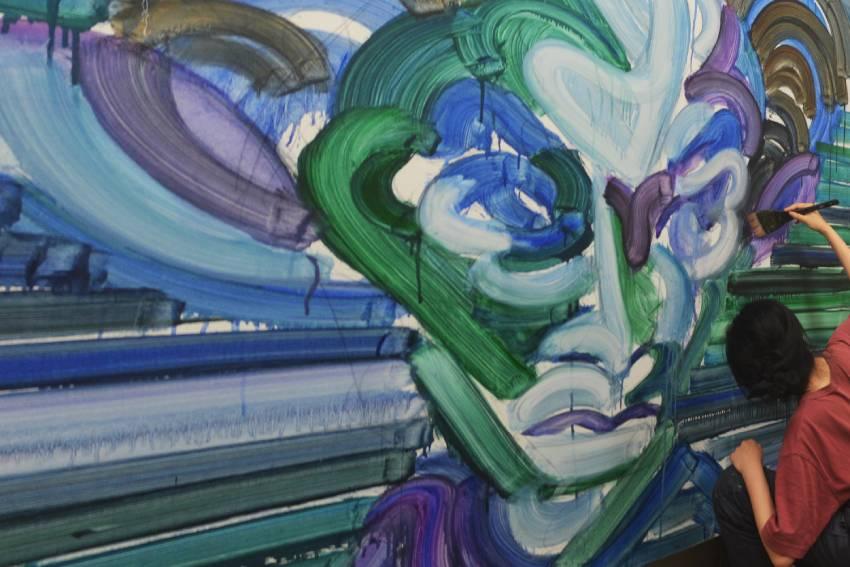 江上越の個展「星の時間」の画像